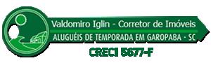 Valdomiro Iglin – Corretor de Imóveis